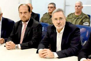 Reunión entre funcionarios de los ministerios de Seguridad de provincia y Nación
