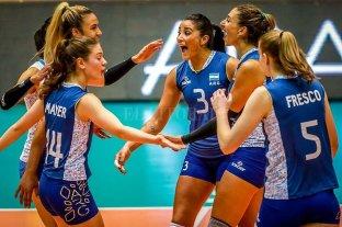 Voleibol femenino: Las Panteras le ganaron 3-0 a Perú