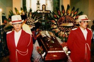 ¿Cómo fue el velorio de Carlos Monzón?