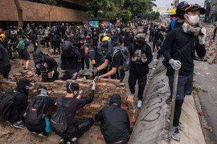 Hong Kong perdió casi 9 millones de dólares durante las protestas antigubernamentales