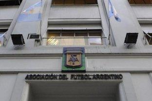 """La AFA criticó a la Superliga por su """"desinterés"""" y """"desapego"""" con el seleccionado nacional"""