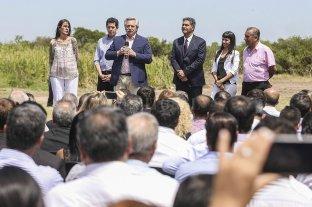 """Fernández: """"La reparación histórica la merece todo el norte argentino"""""""