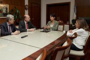 El gobernador se reunió con Moroni y Marcó del Pont
