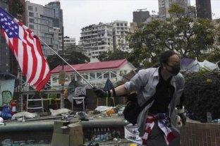 "Hong Kong denuncia ""intervención"" de EEUU por aprobar ley sobre protestas antigubernamentales"
