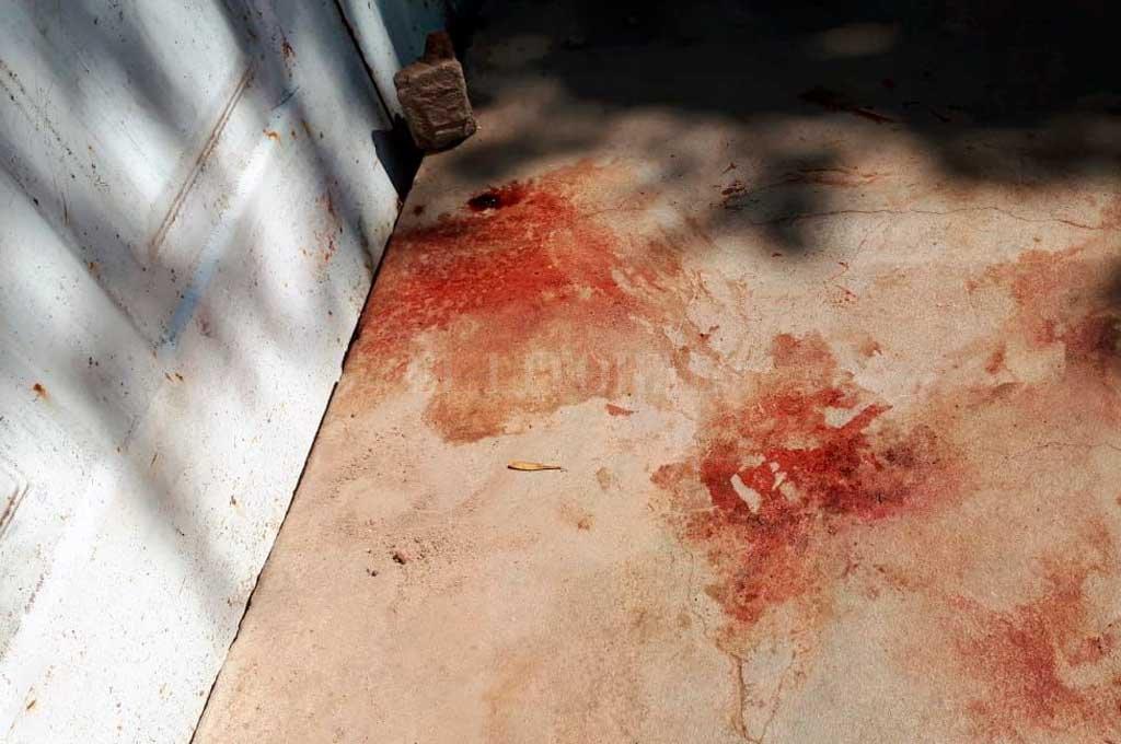 """En Villa Hipódromo. Tenía 32 años y le decían """"Chochino"""". Fue acribillado frente a una casa en Pedro de Vega y pasaje Paraná <strong>Foto:</strong> Danilo Chiapello"""