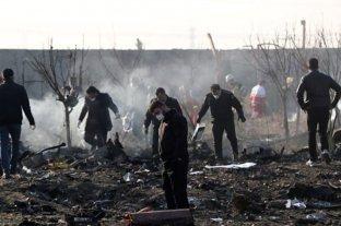 Irán y Ucrania investigan el accidente aéreo y buscan frenar especulaciones sobre un posible ataque