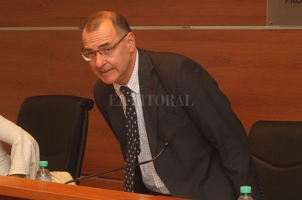 Juez Luis Octavio Silva. Crédito: Archivo El Litoral