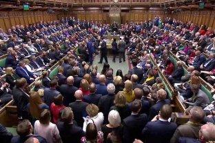 La Cámara de los Comunes británica aprobó el Brexit el 31 de enero