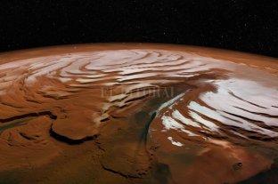 """Un informe científico reveló que Marte está perdiendo su agua """"rápidamente"""""""