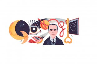 Vicente Huidobro, el poeta chileno al que Google homenajea con su doodle