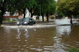 Las fotos de la fuerte tormenta en Santa Fe
