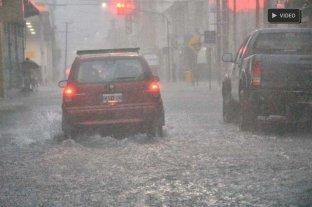 Fuerte tormenta y complicaciones en la ciudad de Santa Fe