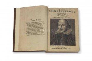 """Subastan un ejemplar completo del """"Primer Folio"""" de Shakespeare"""