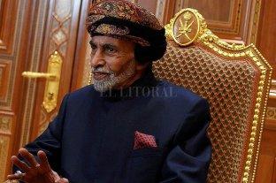 Falleció el Sultán de Omán sin nombrar sucesor