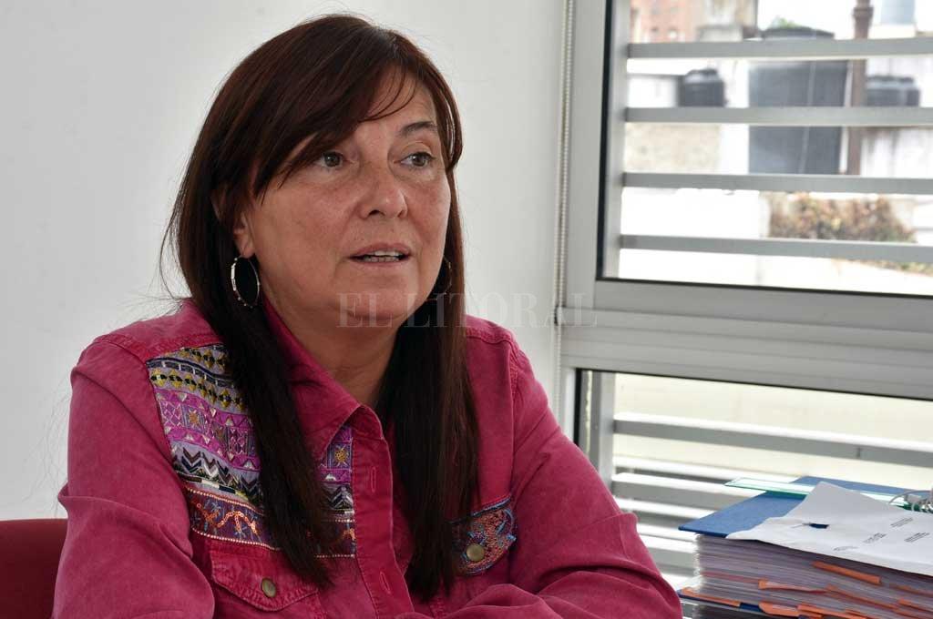 """""""Ante todo soy una militante y cada una de las cosas que hice en la política fue desde esa perspectiva"""", define Celia Arena. <strong>Foto:</strong> Guillermo Di Salvatore"""