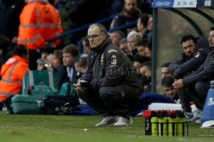 Leeds de Bielsa perdió y cedió la punta de la Segunda división inglesa