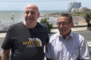 Un aviador argentino y un exsoldado británico, en un emotivo encuentro frente al mar