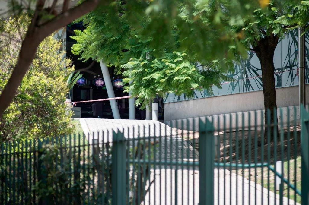 La zona desde donde fueron efectuados los disparos hacia Elsino. <strong>Foto:</strong> Marcelo Manera.