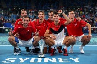 Con Djokovic como líder, Serbia se consagró campeón de la ATP Cup