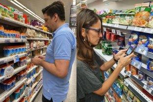 Ministros se sumaron al control de Precios Cuidados en supermercados