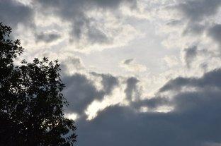 Lunes mayormente nublado en Santa Fe -  -