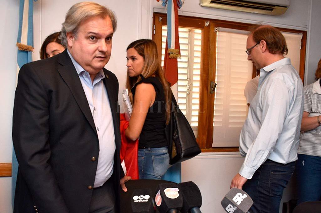 Farías reclama un diálogo serio al gobierno para discutir una emergencia por las severas consecuencias que puede tener para el Estado. <strong>Foto:</strong> Guillermo Di Salvatore.