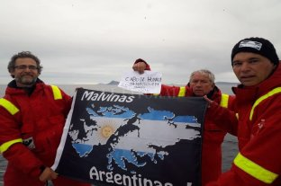 El ex combatiente de Malvinas amarró en la Antártida con su velero de 12 metros