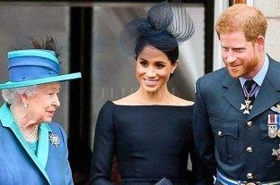 """La familia real """"apoya"""" el deseo de Harry y Meghan"""