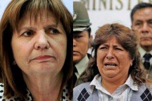 """Para Bullrich: """"volvieron los bolsos"""" tras la detención de una mujer con dólares sin declarar"""