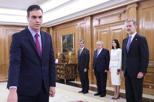 Juró el gabinete de Sánchez