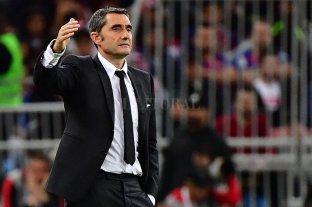 Barcelona decidió despedir al entrenador Ernesto Valverde