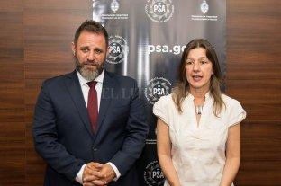 La ministra Frederic puso en funciones al nuevo director de la PSA