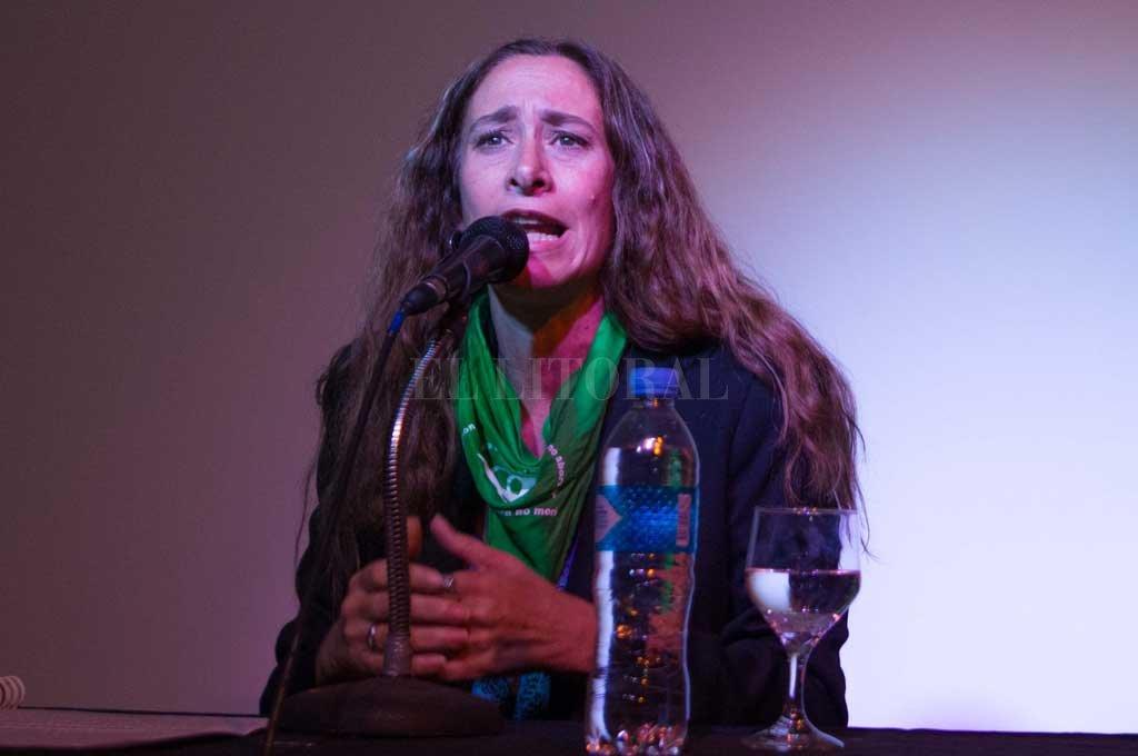 Lucila Puyol, secretaria de Derechos Humanos. Crédito: Archivo El Litoral
