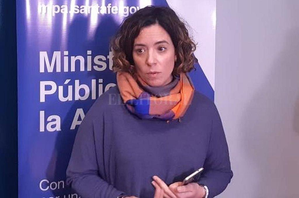 Fiscal María Celeste Minniti. <strong>Foto:</strong> Archivo El Litoral