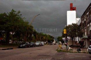Así avanza la tormenta en Santa Fe -