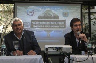 La grieta se mudó al fútbol: AFA-Superliga