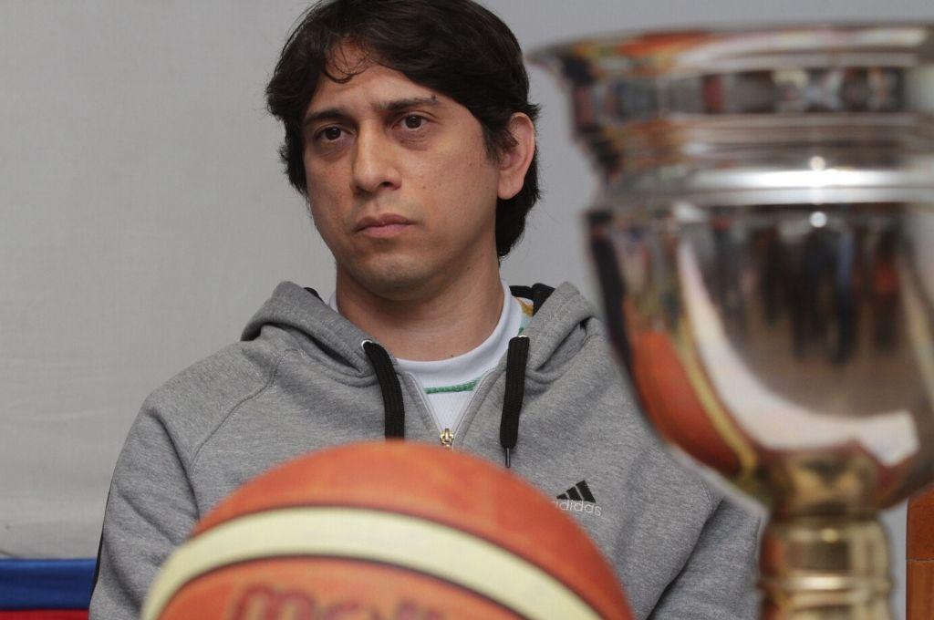 Mariano Espinosa, director técnico de U19 y primera división en los celestes.   <strong>Foto:</strong> Mariano Favatía