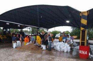 Las lluvias complicaron el panorama en el sur provincial