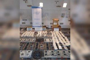 Ya son 8 los detenidos por la cocaína hallada en Ezeiza
