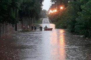 Continúan con la búsqueda del remisero que fue arrastrado por la tormenta en Buenos Aires