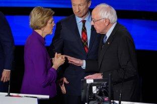Se tensa la pelea entre los precandidatos progresistas del Partido Demócrata en EEUU