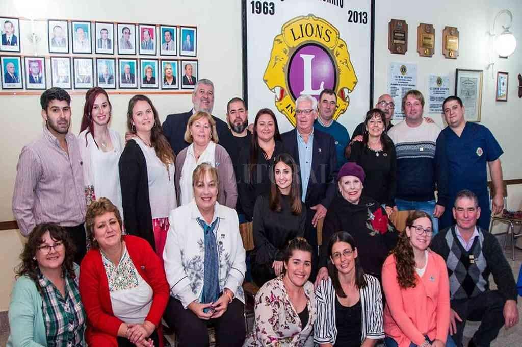 Trabajo en equipo. Este año el Club de Leones de San Jerónimo Norte celebró su 56° Aniversario. <strong>Foto:</strong> Gentileza