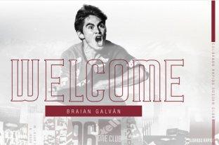 Colorado Rapids anunció la contratación de Braian Galván  - Así fue anunciado el jugador en el comunicado oficial del club de Denver.    -