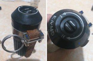 """A lo """"Rambito y Rambón"""": encontró una granada y la Policía la """"resguardó"""" en una cocina"""