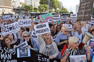 Marchas y ceremonias a cinco años de la muerte del fiscal Nisman -  -