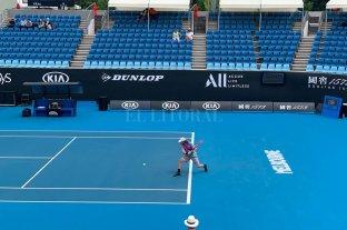 Trungelliti ganó y avanza en la clasificación del Australian Open