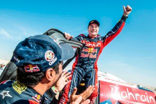 Sainz se consagró por tercera vez en el Dakar