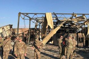 EEUU reconoció que hubo soldados heridos en el ataque iraní posterior a la muerte de Soleimani