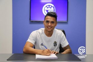 Maxi Cuadra firmó con Gimnasia de La Plata