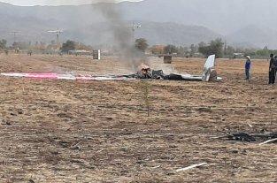 Dos personas murieron al caer una avioneta cerca del aeródromo La Victoria de Chile